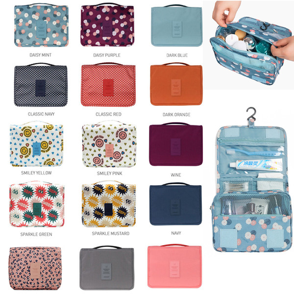 f79e2c979dfb 2019 Toiletry Bag Multifunction Cosmetic Bag Portable Makeup Pouch  Waterproof Travel Hanging Organizer Bag For Women Girls Storage Bags From  ...