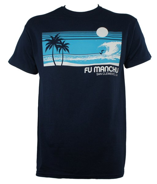 Authentic FU MANCHU Band Surfer San Clemente T-Shirt Stoner Rock NEW Fashion Men T Shirt Free Shipping Text