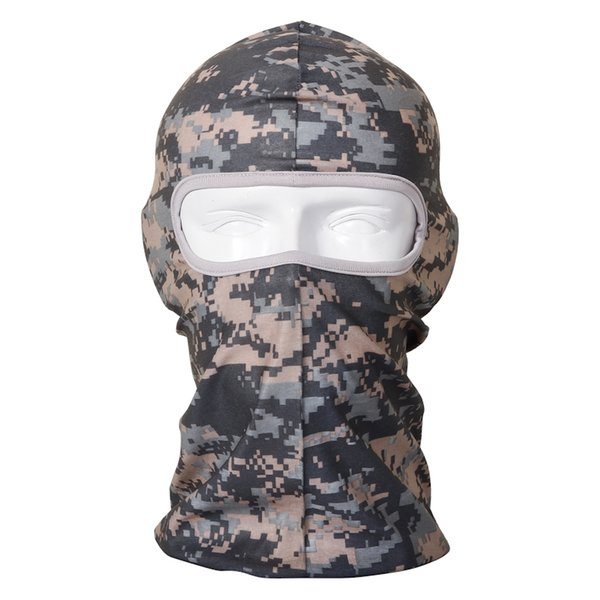 Camo Outdoor Sports Bicycle Cycling Motorcycle Masks Ski Hood Hat Veil Balaclava UV Protect Full Face Mask