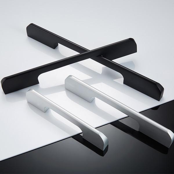 2019 Wholesale Aluminum Profile Pull Furniture Bedroom Bathroom Shoe  Cabinet Kitchen Door Usage Black White Pull Handles From Aprilhardware,  $1.35 | ...