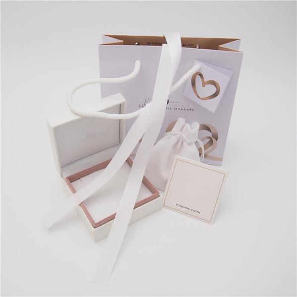 3 com esponja lisa de caixa de pulseira rosa