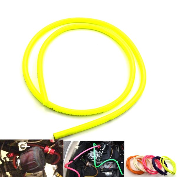 For 1M Colorful Gas Line Gasoline Fuel Oil Pipe Tube Hose for Motorcycle Dirt Pit Bike ATV promotion low price For Honda Suzuki