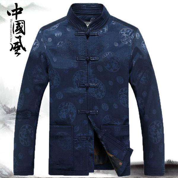 traditionnel chinois kung fu costume hommes vêtements veste pour les hommes cheongsam tang costume oriental porter homme vintage hommes chinois tops