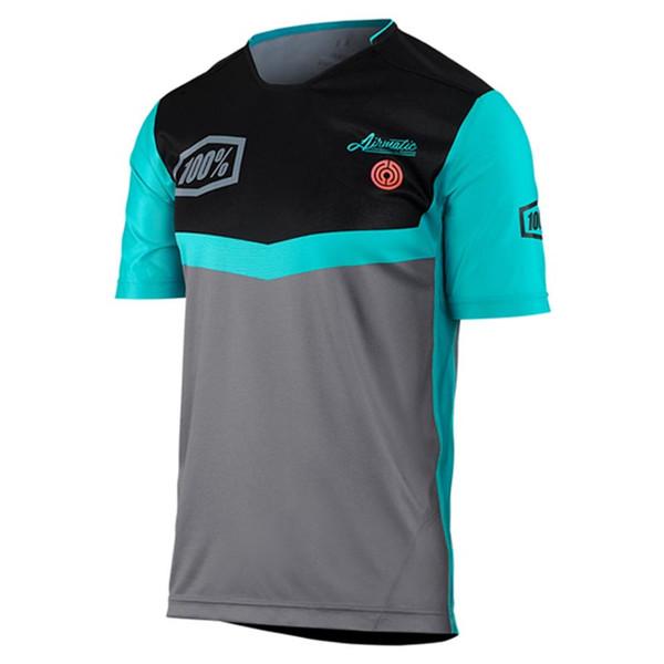 SPTGRVO Summer Pro Team 100% Kurzarm-Moto-Jersey MTB-Radsportbekleidung MX DH Motocross Racing Downhill-Trikot Sport T-Shirt