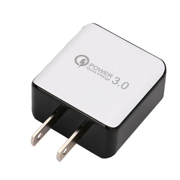 Qc 3.0 carregador de parede rápido usb carga rápida 5 v 3a 9 v 2a adaptador de energia de viagem rápido de carregamento eua plugue da ue para iphone 7 8 x samsung huawei telefone
