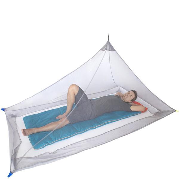 Mosquiteras de viaje al aire libre tienda ligera compacta mosquitera pabellón para acampar mochilero venta caliente