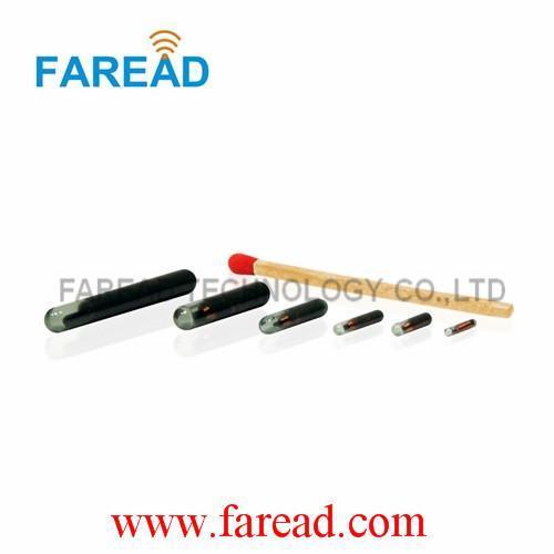 x100pcs RFID Glass tag 2.12*12mm FDX-B rfid chip for animal identification/tracking