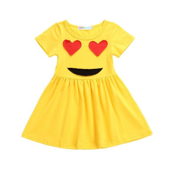 Online Cheap Girls Dresses Kids Clothing Summer Princess Dress Kids