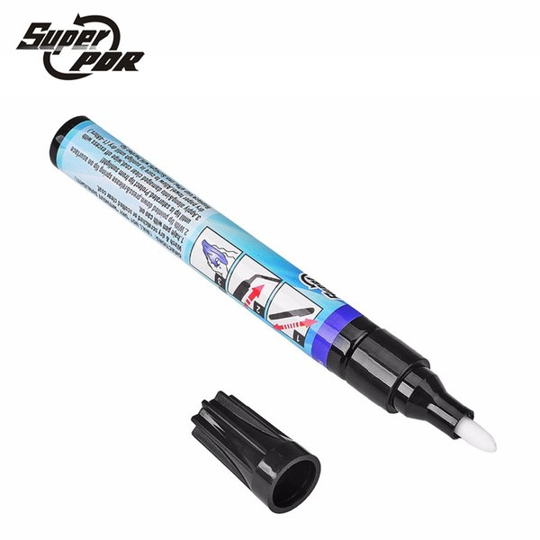 Super PDR Magic Permanent Water Resistant Works on all colors Fix It Pro Clear Car Coat Scratch Cover Remove Repair Painting Pen