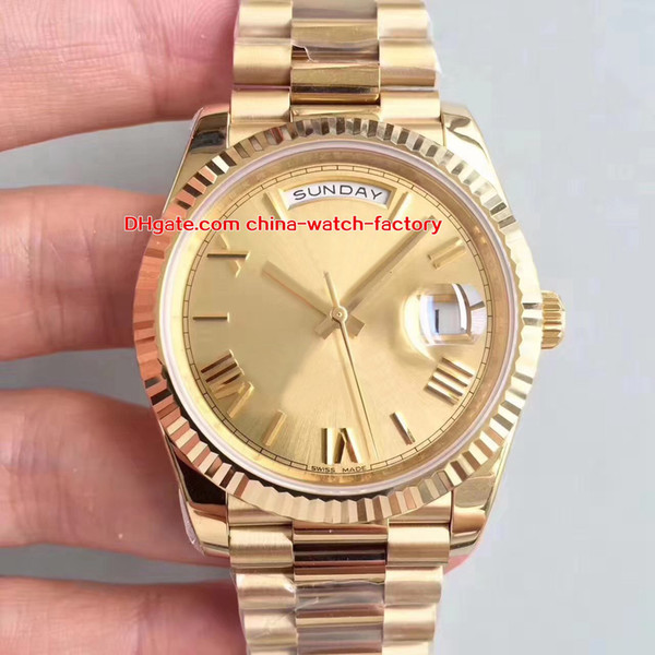5 Style Best Quality Watch N Factory 41mm Day-Date II 228235 218239 President 18k Gold Swiss CAL.3255 Movimento Mens Orologi automatici