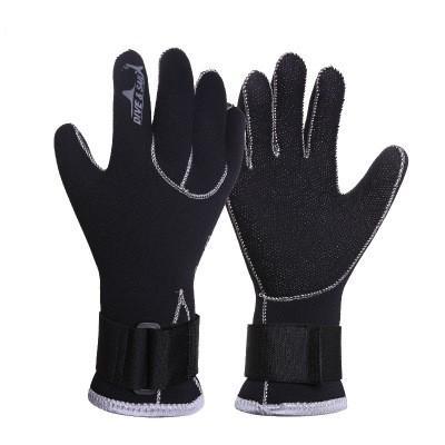 Neoprene Scuba Dive Gloves Snorkeling Equipment Anti Scratch Keep Warm Wetsuit Material Winter Swim Spearfishing Hand Guard 24xj dd
