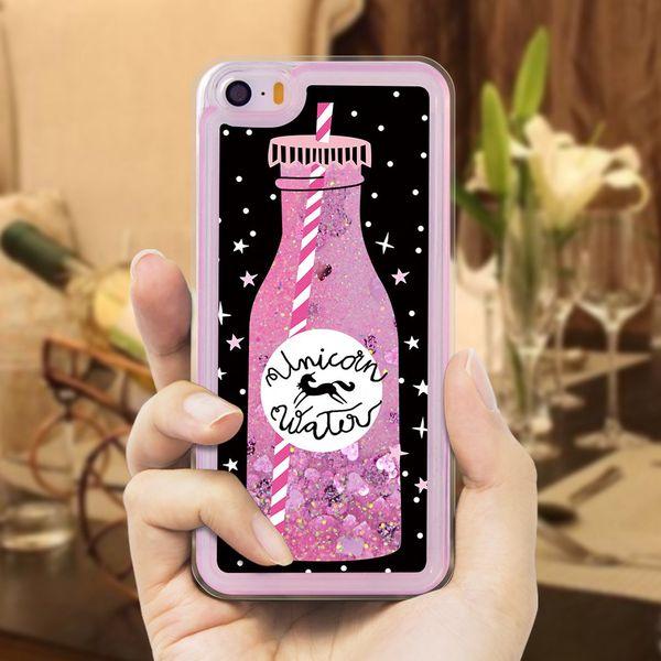 coque iphone 5 silicone liquide