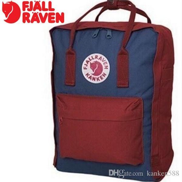 ccf97d1b2 2019 HOT Fashion Design Mochila Classic Mini Student kanken Backpack 7L 16L  20L Teenager Backpack Arrival