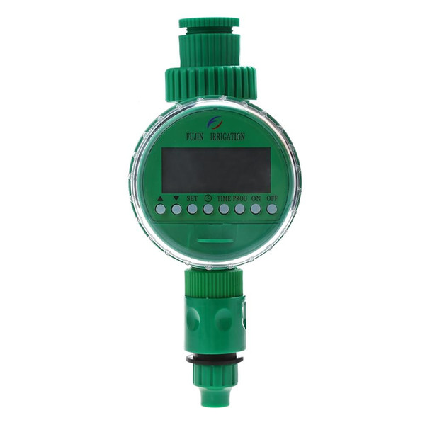 LCD Display Automatic Intelligent Electronic Garden Water Timer Rubber Solenoid Valve Irrigation Sprinkler Control Gasket Design