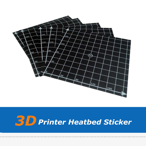 3D Printer Part 5pcs Heat Bed Sticker, Hotbed Sheet For 3D Printer Printing Build Plateform with Size 300*300mm