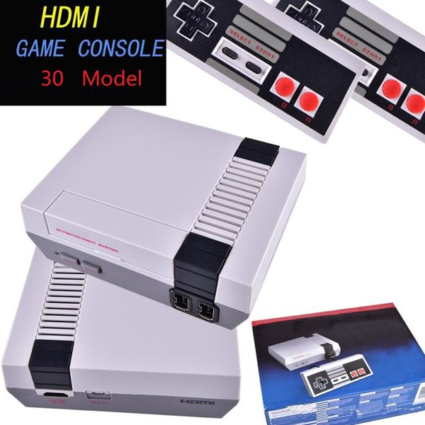 Mini HDMI Games Console 2018 Newest Retro HD TV Video Handheld Consoles for 30 NES game consoles with retail box Kids Xmas Gift