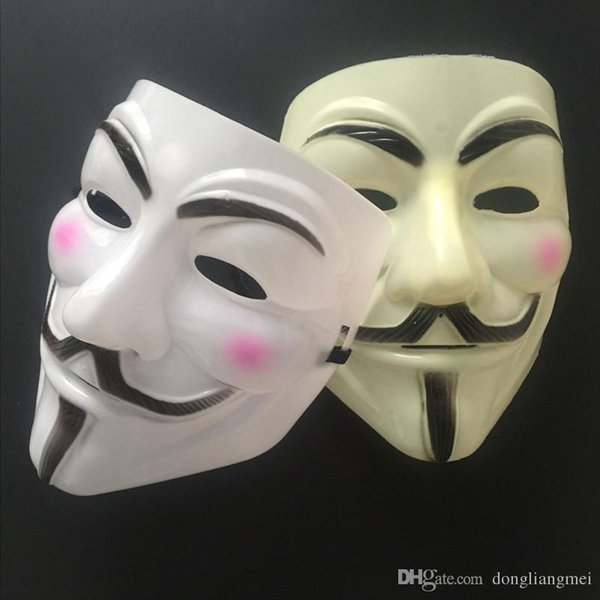 2020 Party Masks V For Vendetta Mask Anonymous Guy Fawkes Fancy