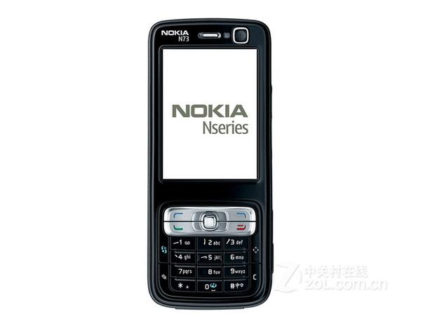 2016 Sale Wholesale Original Refurbished for Nokia N73 Mobile Cell Phone Unlocked Gsm Symbian English Arabic Russian Keyboard 30pcs free Dhl