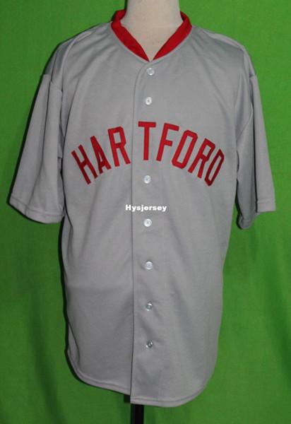 Cheap Retro LOU GEHRIG HARTFORD SENATORS blank 1922 Road BASEBALL JERSEY Or Custom any number any Mens Vintage jerseys XS - 5XL
