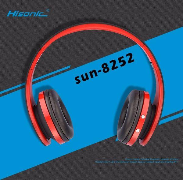 Hisonic Inalámbrica Bluetooth Estéreo Deporte Plegable para Auriculares Auriculares Auriculares Micrófono Para iPhone audio casque auricular