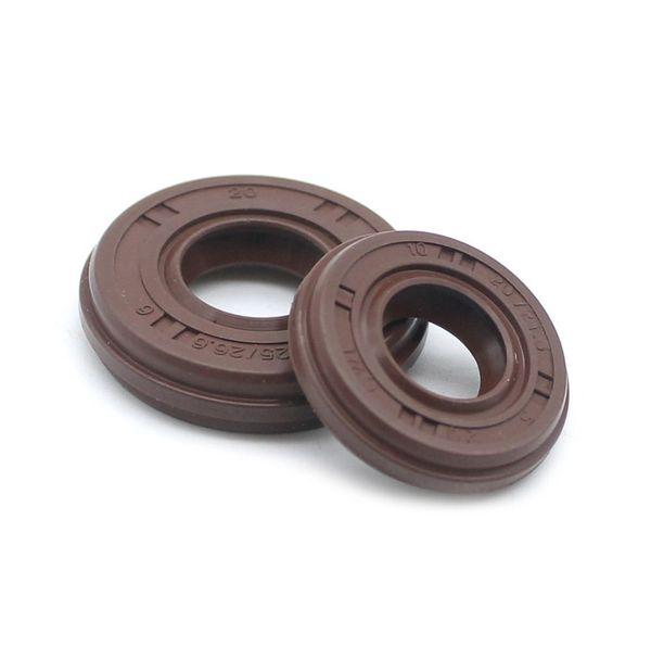 2 Pairs X Front & Black Crankshaft oil seal fits Honda GX25 GX25N engine brush cutter trimmer 4pcs/lot replacement part