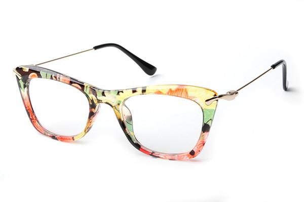 7db1128c9b4 LONSY Brand Designer Eyeglasses Frame Vintage Eye glasses clear lens  reading eyewear Optical Glass gafas armacao oculos de grau