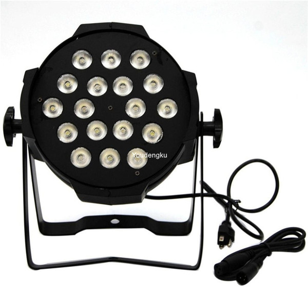 4 pieces par led 18x10w 4 in 1 led par cans rgbw led par64 light