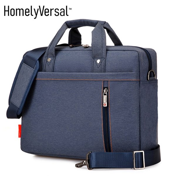 Water/dustproof 13,14,15,17 inch men and women shoulder computer bag laptop bag business briefcase factory
