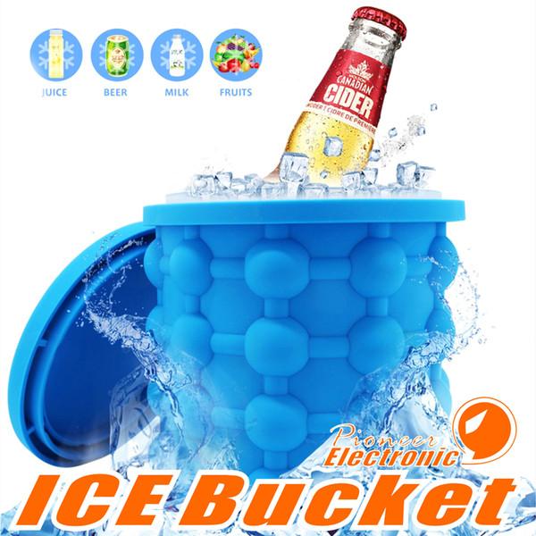 Ice Cube Maker Lo spazio rivoluzionario Silicone Ice Cooler Risparmio Irlde Genie Utensili da cucina Ice Benne Giochi all'aperto