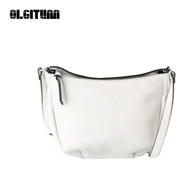 OLGITUM 2017 Hot Sale New Women Shoulder Bag Women Leather handbags Ladies Black Small Bag Messenger Bags HB154