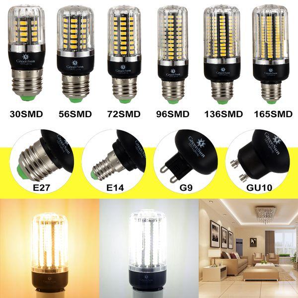 High Lumens 5736 SMD LED Corn Bulb Light E14 E27 G9 GU10 3W 5W 7W 9W 12W 15W LED Spot Light Lamp 220V Energy Saving