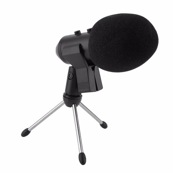 ortable Audio Video Microphones 5Pcs/Set Condenser Sound Recording Mic Speaking Speech Microphone Independent Audio Card Free Microphone ...