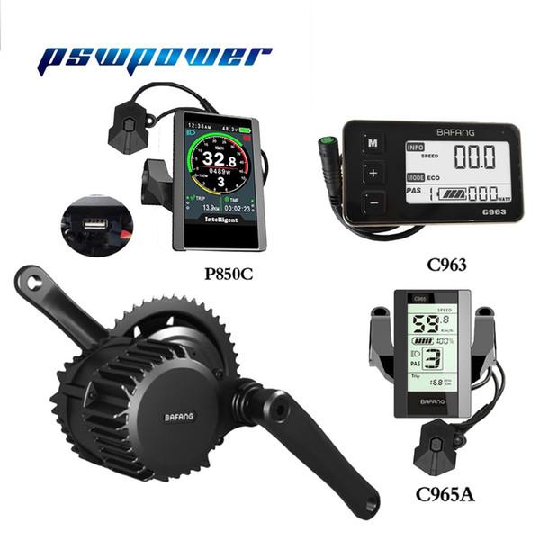 free shipping bafang/8FUN BBS03 BBSHD 48V 1000W Ebike Electric bicycle Motor 8fun mid drive electric bike conversion kit