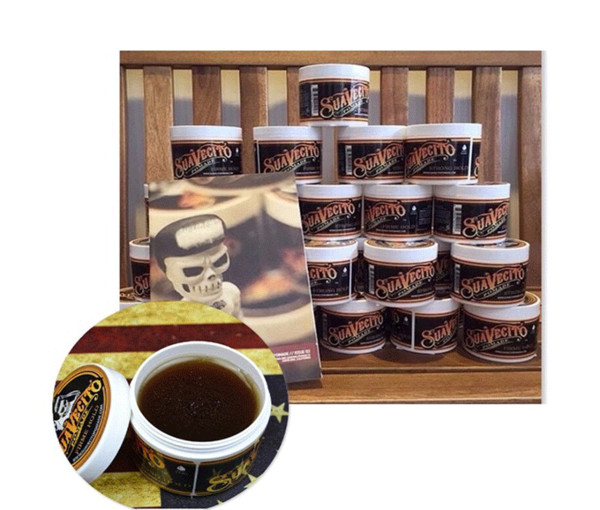 top popular High quality Suavecito Pomade Strong style Restoring Ancient Ways Hair Wax Slicked Back Oil Wax Mud Best skull Keep Very Strong Hold 2021