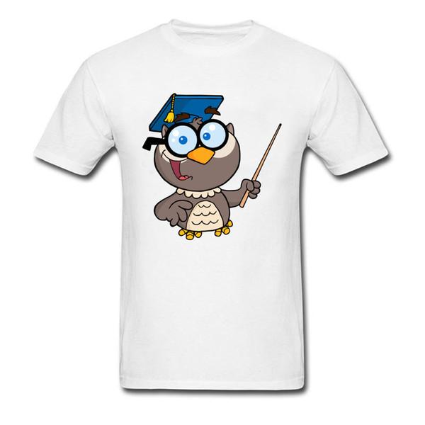 Cute Graphic Student Top T-shirts Summer Fashion Pure Cotton Tee Shirts Math Teacher Panda 3d Cartoon Anime T Shirt For Boys
