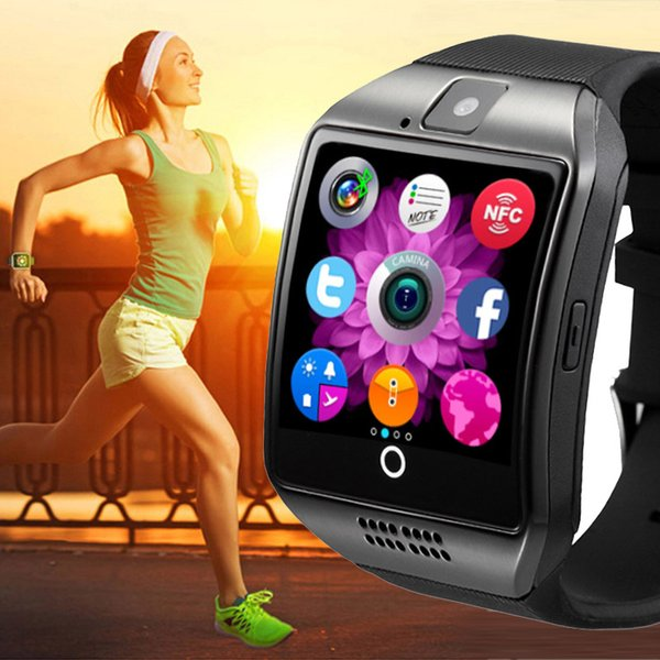 Sports Smart Wristband Bracelet Fitness Pedometer Touch Bluetooth Camera Sleep GPS Running NFC Outdoor Smart Watch Wrist Band