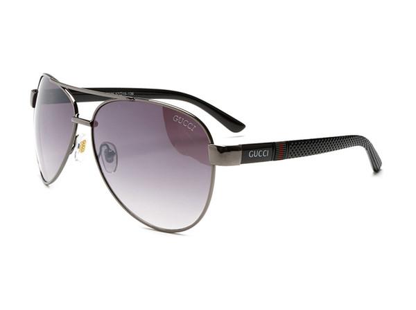 Luxury 3336 Sunglasses For Men Brand Design Fashion Sunglasses Wrap Sunglass Pilot Frame Coating Mirror Lens Carbon Fiber Legs Summer Style
