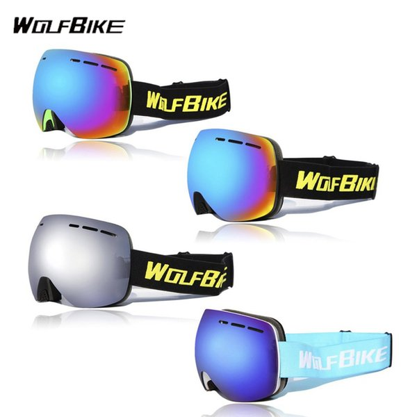 Wolfbike BYJ-018 UV400 Ao Ar Livre Óculos De Proteção de Dupla-camada À 39149e1ab9