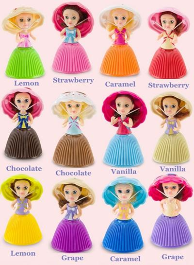 mixed cupcake princess doll
