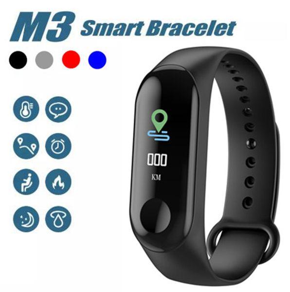 M3 Smart Bracelet Fitness Tracker HD 0.96