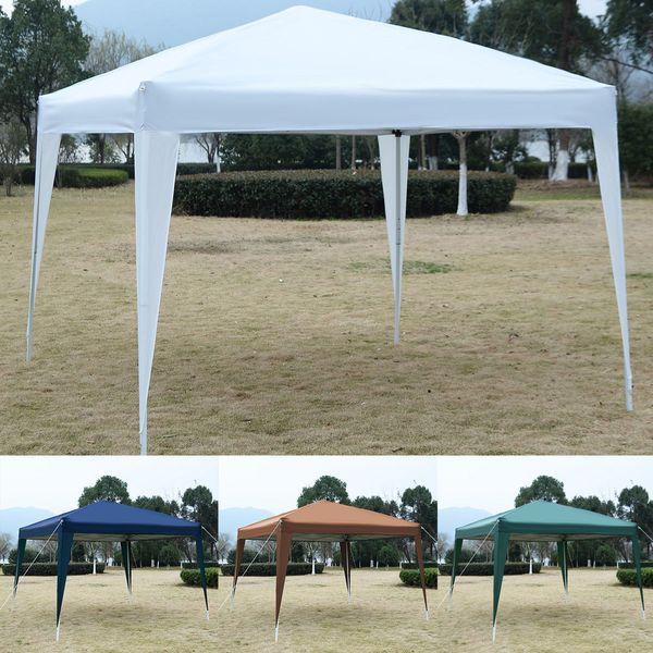 10X10EZ POP UP Canopy Tent Gazebo Wedding Party Shelter Bolsa de transporte Nuevo