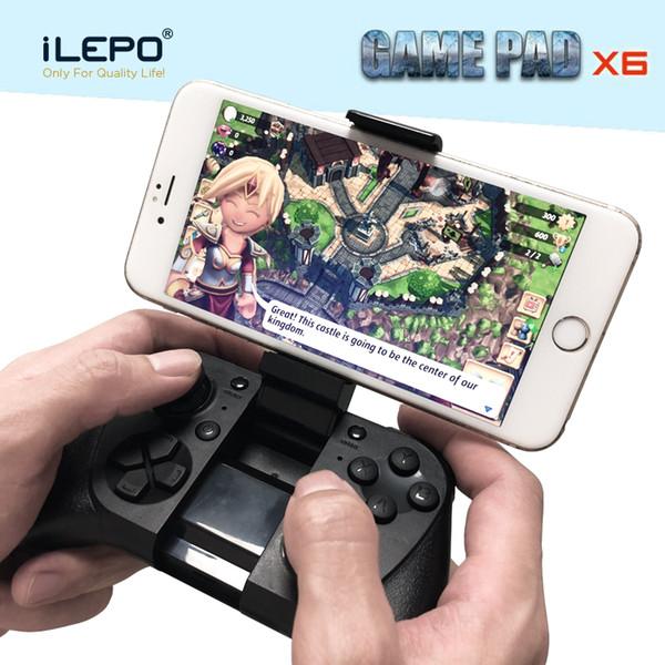 1 Stück!! Gamepad X6 Portable Game Controller Unterstützung MFI-Spiel für IOS Iphone Apple Super Smartphone Spiel Companion Wireless 3.0 kompatibel