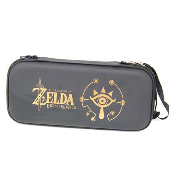 Black EVA Storage Hard Protective Carrying Bag Cover Case With 10 Game Holder for Nintend Switch for NS Console