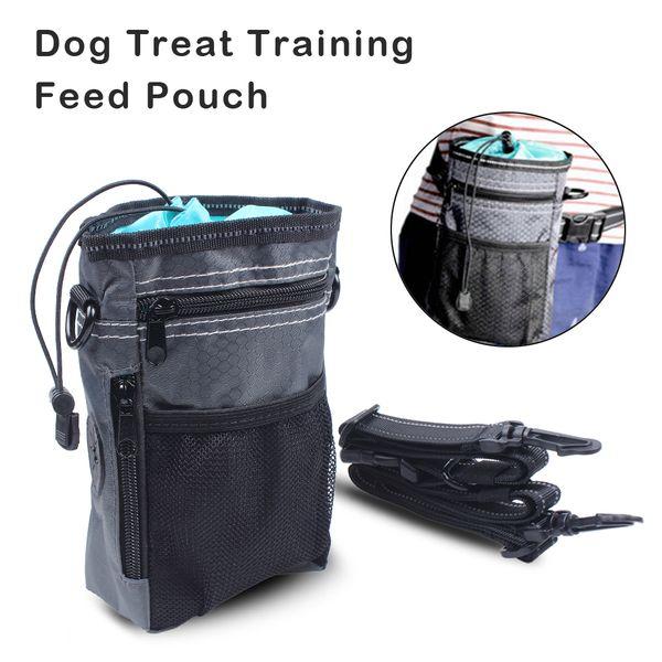Sacchetto di addestramento del cane Tratto di addestramento del cane Borsa di Oxford con cinturino Porta facilmente giocattoli Tritatutto