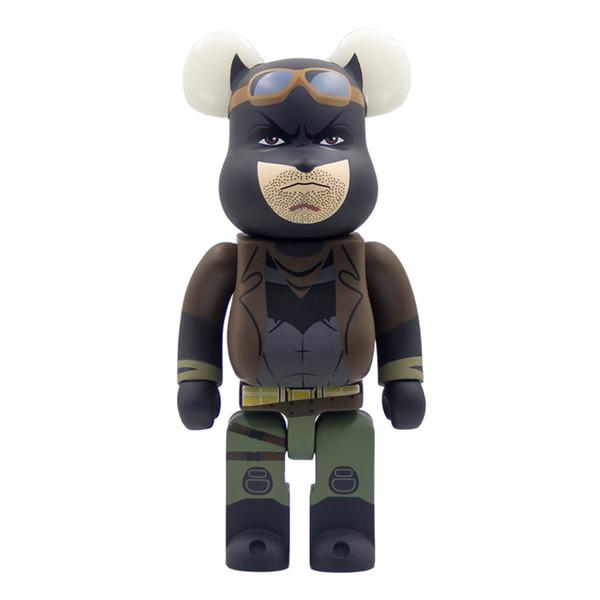 Bearbrick building block bear DC Marvel Batman hand to do 400% violent bear doll toy doll model product height 28cm