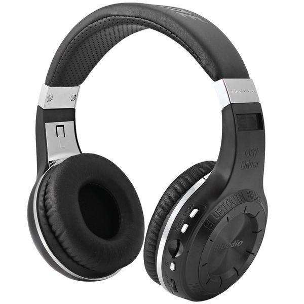 Bluedio H + Bluetooth-Freisprecheinrichtung Bluetooth-Freisprecheinrichtung Super Bass Music Kopfhörer mit Line-In-Buchse Mikrofon TF-Kartensteckplatz für Smartphones Comp