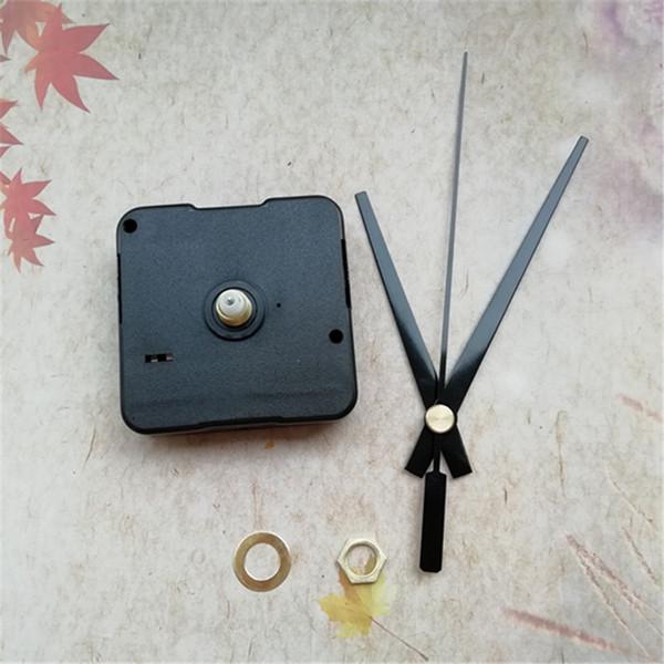 Commercio all'ingrosso 12MM Shaft Sweep 50PCS Clockwork per accessori orologio al quarzo con orologio nero mani kit fai da te