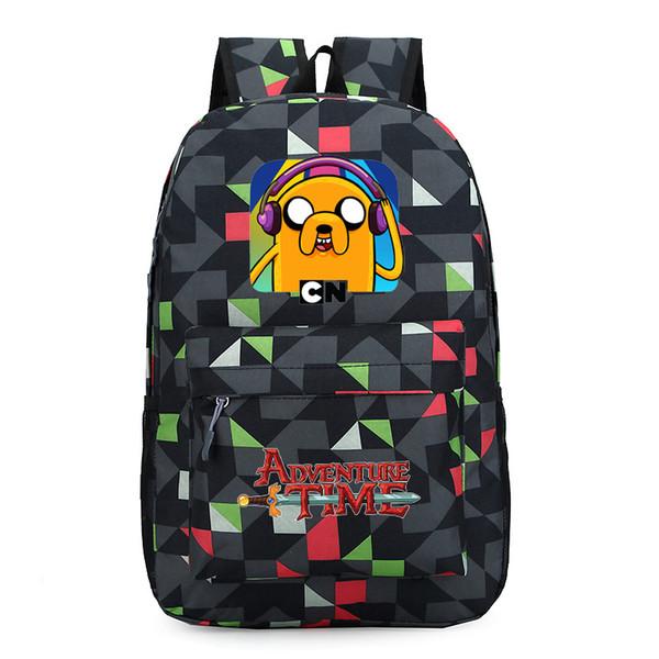 Finn and Jake backpack Boy Girl for teenagers Student School Bags travel Shoulder Bag Laptop Bags bookbag