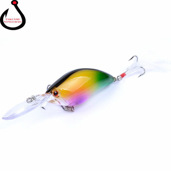 Floating Wobbler Laser Minnow Fish Lure 11CM 18G Artificial Plastic Pesca Hard Bait Carp Crankbait 6Colors 1pcs/lot WS-20 Y1890402