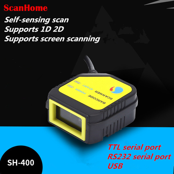 Großhandel neueste Scan-Modul QR Scan-Kopf-Modul Fixed Engine SH-400 USB / Seriell TTL Unterstützung screen1D 2D-Code scannen